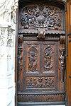 Linker und rechter Türflügel der Kirche St-Pierre