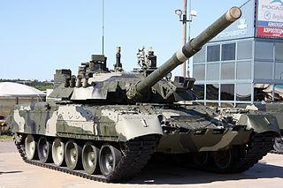 T-80 main battle tank