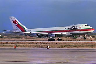 TAP Air Portugal - TAP Boeing 747-200B in 1985