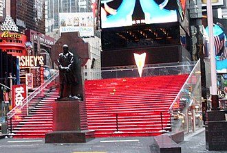 Duffy Square - Image: TKTS bleachers crop