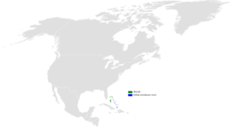 Tachycineta cyaneoviridis distribution map.png