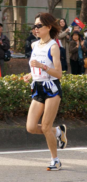 Naoko Takahashi - Image: Takahashi Naoko Nagoya Womens Marathon 2008