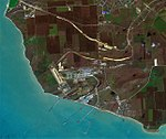 Taman Port (Russia), satellite image, 2018-03-05.jpg