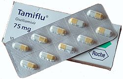 medicamento  Tamiflu para gripe A/H1N1