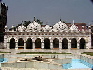 The Star Mosque in Dhaka.
