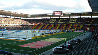 SC Bern - SC Bern versus SCL Tigers in an outdoor game 14 January 2007.