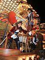 Taunton Carnival 2014 - Harlequin CC (Tortuga, detail).JPG