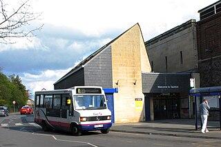 Taunton railway station train station in Taunton, Somerset, UK