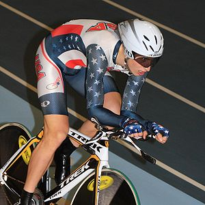 Taylor Phinney - Phinney during the 2010 UCI Track World Championships, where he won a gold medal for the individual pursuit