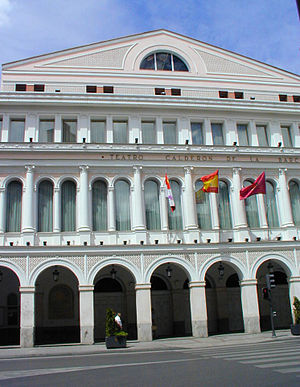 Calderon Theatre is the festival headquarters Teatro Calderon.jpg