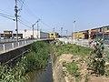 Tebikaimagawa River in Fukutsu, Fukuoka.jpg