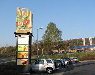 Tegut - Post in Tann (Rhön)