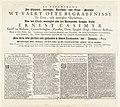 Tekstblad met titel en gedicht voor de prentserie van de begrafenis van Ernst Casimir, graaf van Nassau-Dietz te Leeuwarden, 1633 Afbeeldinghe Der Ghedenck-weerdighe Heerlijcke ende Treur-Statighe Wt-Vaert ofte Begraefn, RP-P-OB-81.609A.jpg