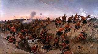 Battle of Tell El Kebir Battle between Egyptian army and British military (1882)