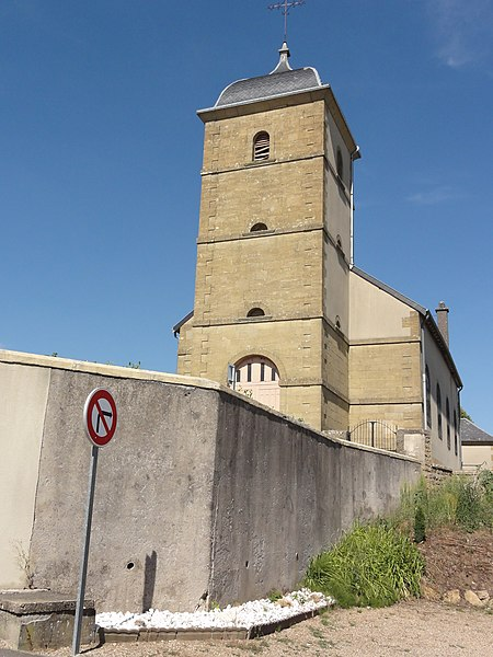 Tellancourt (Meurthe-et-M.) église