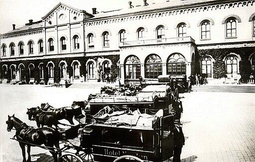 Teplické nádraží (1923)