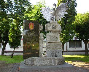 Terespol - Image: Terespol pomnik niepodleglosci 01