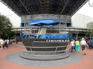 Test Track - Image: Test Track sign