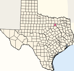 Texas map - Dallas.svg