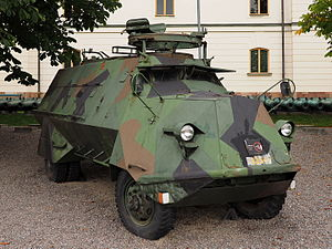 Tgbil m-42 SKP outside the Swedish Army Museum September 2015.jpg