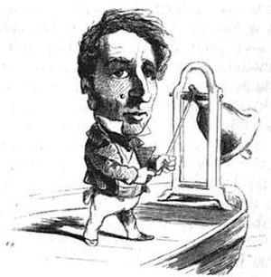Théobald de Lacrosse - 1850 cartoon of Lacrosse by Cham