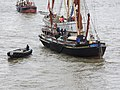 Thames barge parade - in the Pool - Centaur - Reminder 6722.JPG