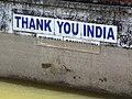 Thank You India - Tibetan Community Sign - Dal Lake - Himachal Pradesh - India (26717994212).jpg