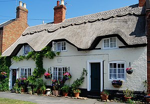 Queniborough - Image: Thatched Cottage Queniborough Leicester