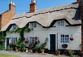 Queniborough - Image: Thatched Cottage Queniborough Leicester