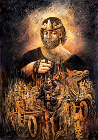 King Saul.  Photo Credit: Lidia Kozenitzky