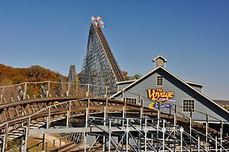 The Voyage (roller coaster) - The Voyage roller coaster