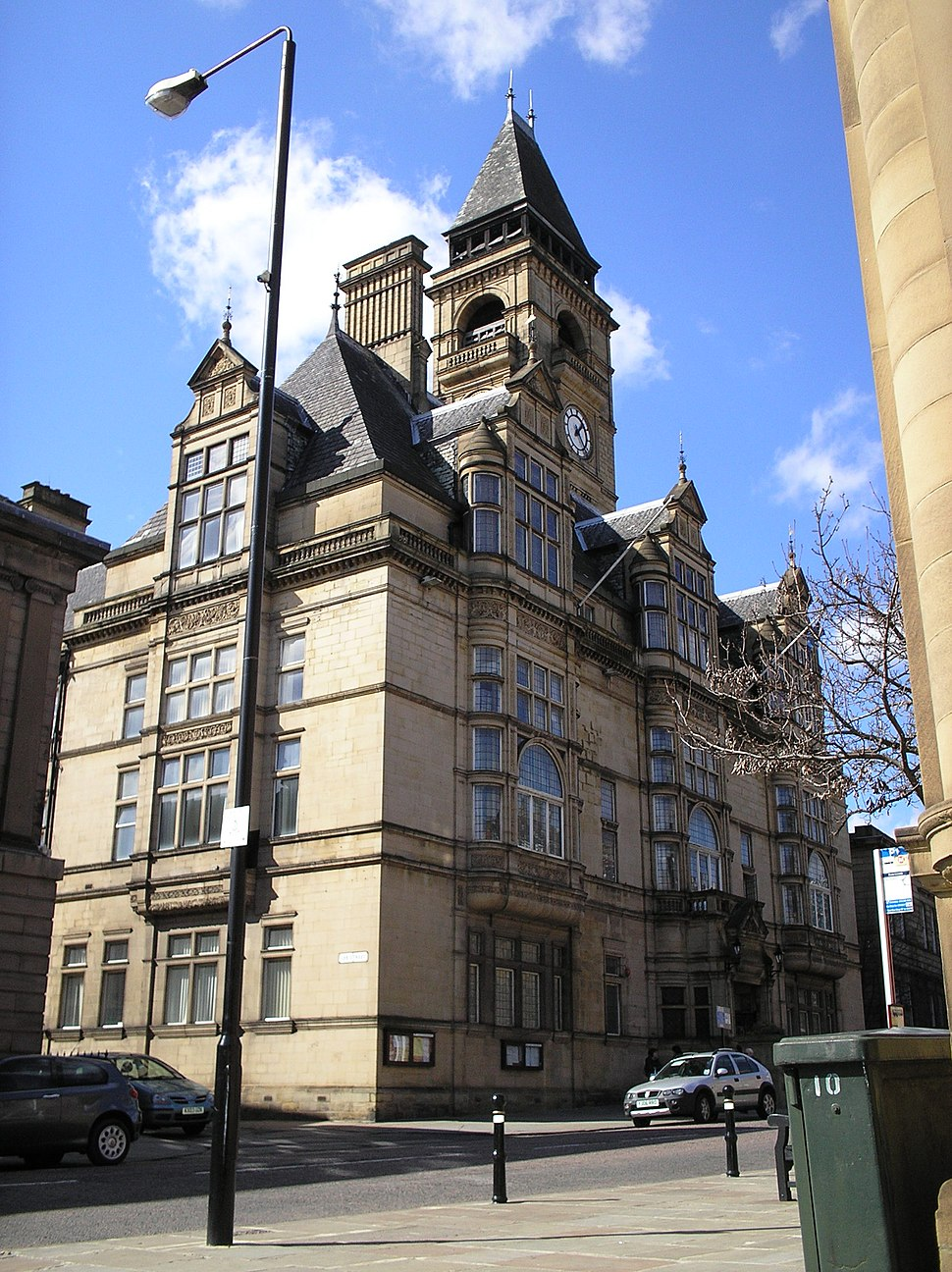 The (new) Town Hall, Wood Street, Wakefield