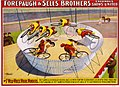 The 7 wild wheel whirl wonders, poster for Forepaugh & Sells Brothers, 1902.jpg