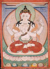 The Bodhisattva Shadakshari Lokeshvara