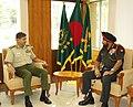 The Chief of Army Staff, General Bikram Singh with the Army Chief, Bangladesh, Gen. Iqbal Karim Bhuiyan, in Dhaka, Bangladesh on October 03, 2012.jpg