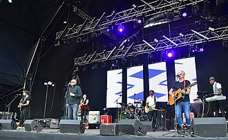 The Christians (band) - The Christians performing in 2014