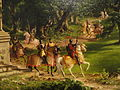The Departure by Thomas Cole, 1837 (detail) - Corcoran Gallery of Art - DSC01120.JPG