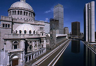 The First Church of Christ, Scientist - Image: The First Church of Christ, Scientist, Boston, October 1974 (2)