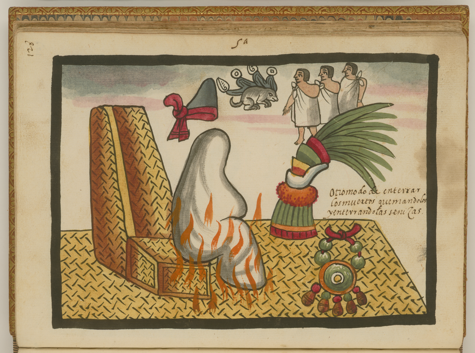 The Funeral Rites of Auitzotl WDL6755