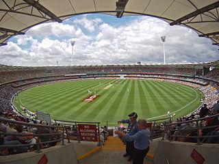 The Gabba Sports stadium in Brisbane, Australia