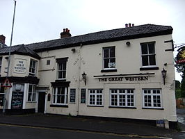 Een pub in Bewdley