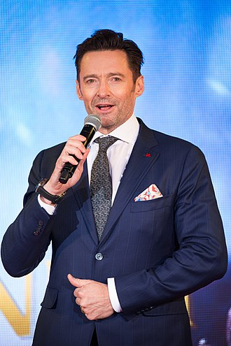 Hugh Jackman - Jackman at the Japanese premiere of his 2017 film, The Greatest Showman