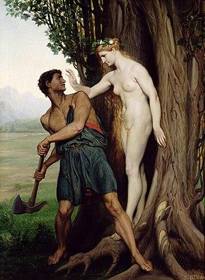 Émile Bin - The Hamadryad (1870)