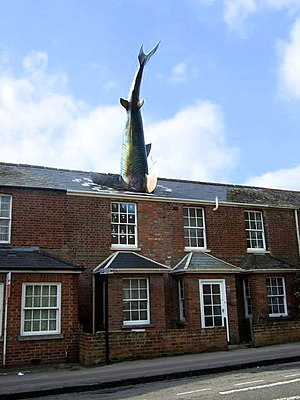 The Headington Shark - The Headington Shark in 2009, after refurbishment.