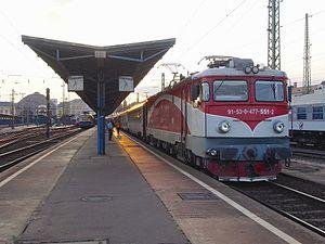 CFR Class 47 - 477 551 at Budapest Keleti