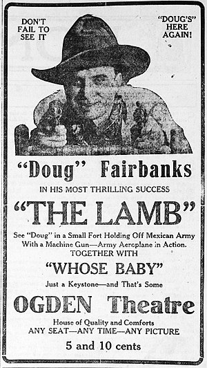 Whose Baby? - Whose Baby? advertised as a double feature with the 1915 film The Lamb