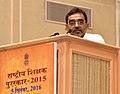 The Minister of State for Human Resource Development, Shri Upendra Kushwaha addressing at the presentation of the National Award for Teachers-2015, on the occasion of the 'Teachers Day', in New Delhi on September 05, 2016.jpg