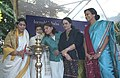 """The Minister of State for Tourism, Smt. Renuka Chowdhury lighting the lamp to inaugurate the """"Project Priyadarshini"""" a tribute to the Incredible Women of Incredible India in New Delhi on December 9, 2005.jpg"""