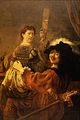 The Painter and his Wife... - Rembrandt Harmenszoon van Rijn.png