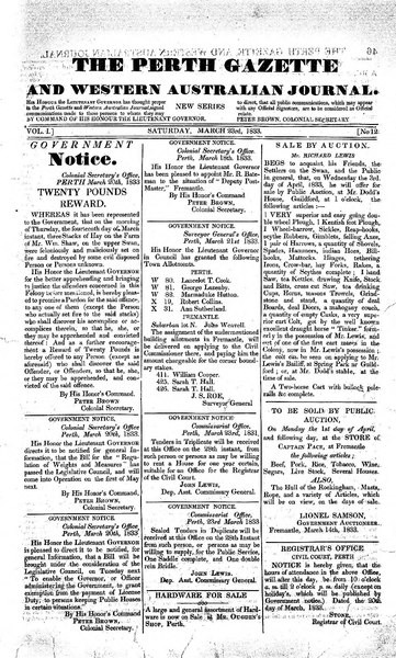 File:The Perth Gazette and Western Australian Journal 1(12).djvu